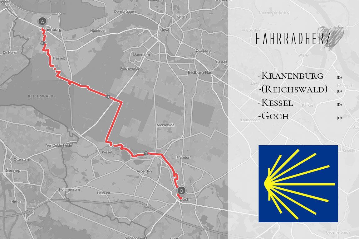 Map-Streckenverlauf
